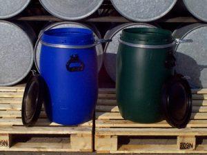 Stort udvalg af plastfade fra 20 - 240 liter