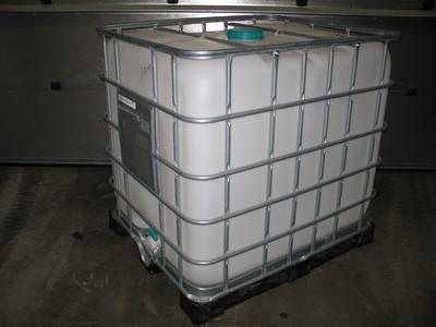 1000 liters schutz på plastpalle