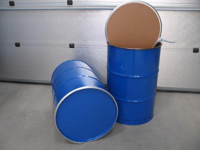 213 liters invendig lakeret jernfade