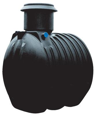 6000 liters jordtank for regnvand