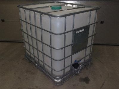 1000 liters schutz på stålpalle