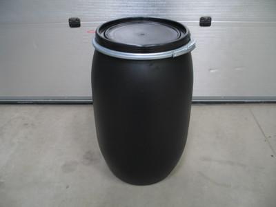 60 liters plastfade i sort