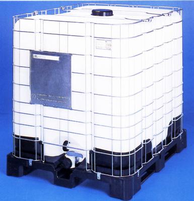 1000 liters ibc på plastpalle sotrlentz