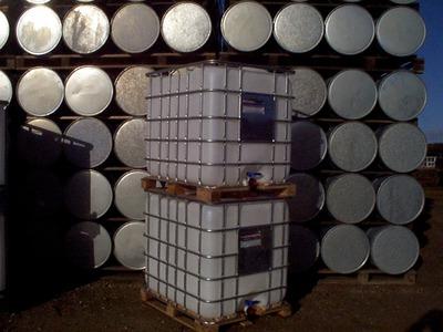 1000 liters ibc på træpalle schütz