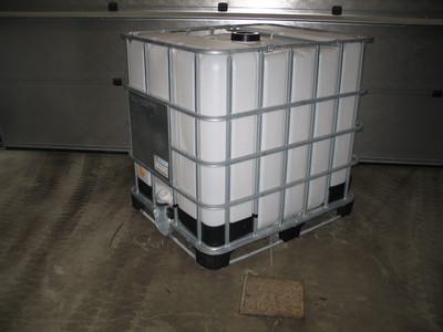 1000 liters ibc på stål mauser
