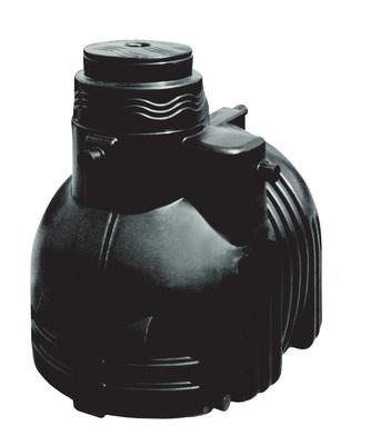 4000 liters plasttank for regnvand